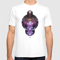 Eye Of The Beholder Mens Fitted Tee White SMALL