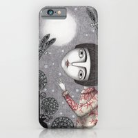 iPhone & iPod Case featuring Night Sky. Dragonfly. by Judith Clay