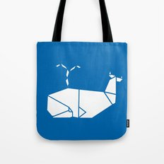 White Whale Tote Bag