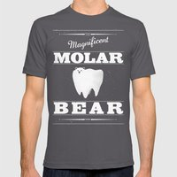 Molar Bear (Gentlemen's … Mens Fitted Tee Asphalt SMALL