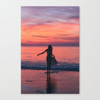 Sunrise Part 2 Canvas Print