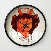ACDC   Highway To Hell Wall Clock