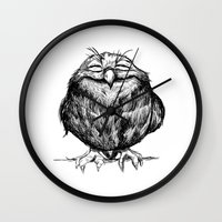 Owl Ball Wall Clock