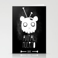 Animal Muerto Stationery Cards