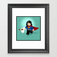 This Is A Stick Up! Framed Art Print