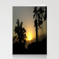 Hawaii Sunset Series C Stationery Cards