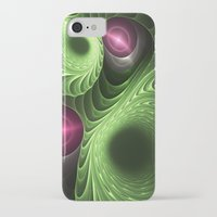 fractal iPhone & iPod Cases featuring Fractal by nicky2342