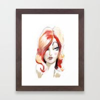 Lolita: Sketch Framed Art Print