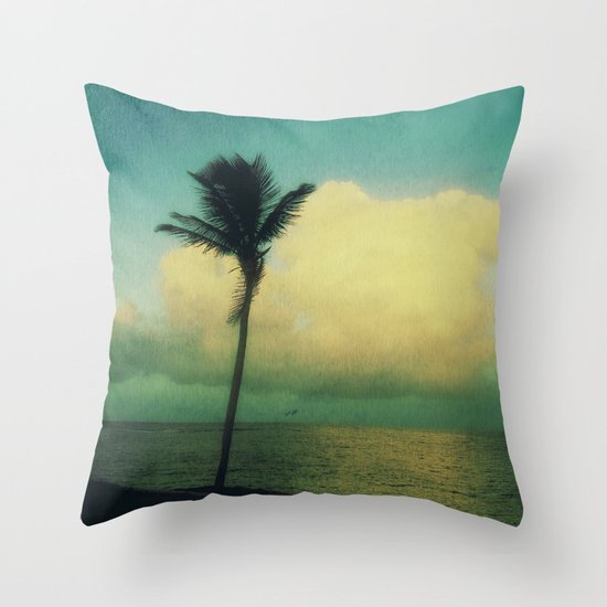 sunset solo Throw Pillow