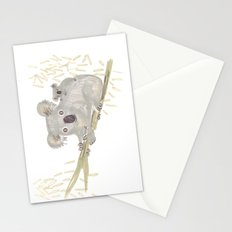 Koala & baby Stationery Cards