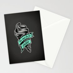 Too Cool to Be Chillin' Stationery Cards