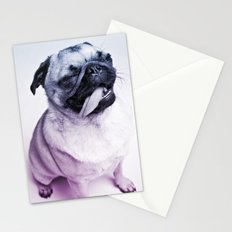 color pug Stationery Cards
