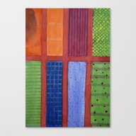 Large Rectangle Fields B… Canvas Print