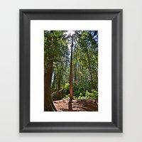 All By Myself Framed Art Print