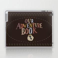 our adventure book Laptop & iPad Skin
