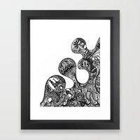 The Desi Framed Art Print