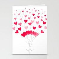 Be Mine :) Stationery Cards