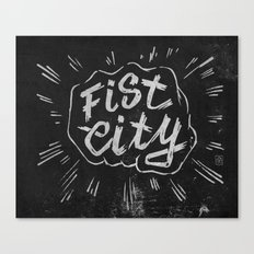 Fist City Canvas Print