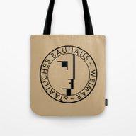 BAUHAUS LOGO / VINTAGE Tote Bag
