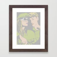 With me Framed Art Print