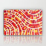 Waves Of Colour Laptop & iPad Skin