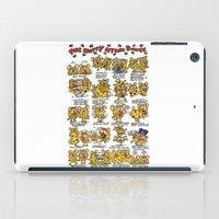 Happy Hyena Dance iPad Case