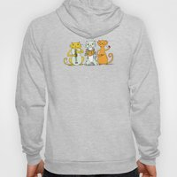 Cat Trio Hoody