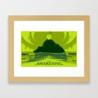 Link's Awakening (Open Edition) Framed Art Print