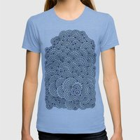 Details Details  Womens Fitted Tee Athletic Blue SMALL