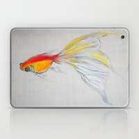 Goldfish Pond (close up#1) Laptop & iPad Skin
