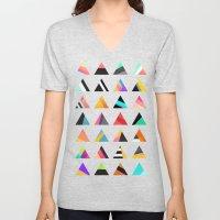 Triangle variation Unisex V-Neck