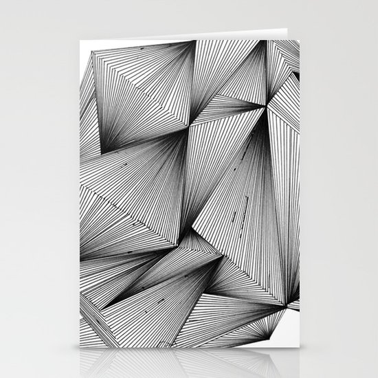 Structure (XYZ) Stationery Card