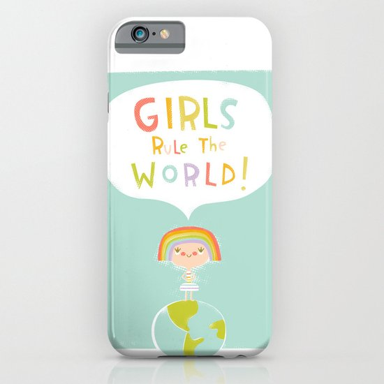 Girls Rule iPhone & iPod Case