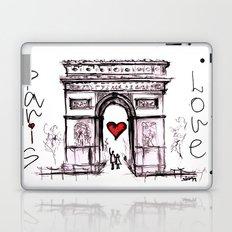 Paris with love Laptop & iPad Skin