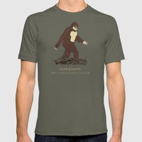 The Samsquanch (Anthropoidipes Sunnyvalis) Mens Fitted Tee Lieutenant SMALL