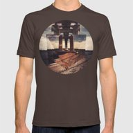 Mnt Hpe Mens Fitted Tee Brown SMALL