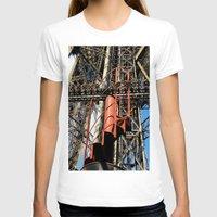 eiffel T-shirts featuring Eiffel by Mario Sa