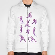 When I Get Nervous I Do a Deep Lunge Hoody