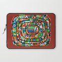 Planet of all good people Laptop Sleeve