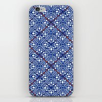 INDIGO RED SUMIYA iPhone & iPod Skin