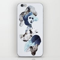 blue emotions iPhone & iPod Skin