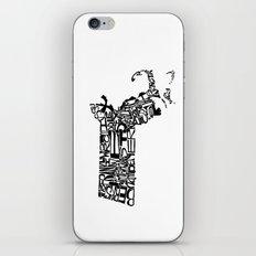 Typographic Massachusetts iPhone & iPod Skin