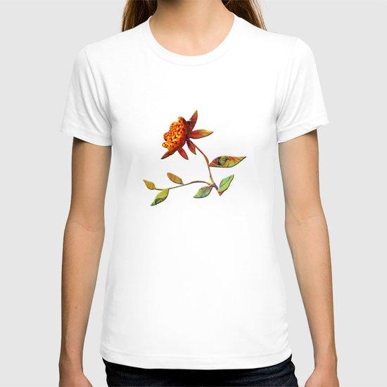 Sunflower Abstract T-shirt