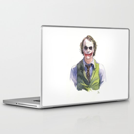 Heath Ledger (The Joker) Laptop & iPad Skin