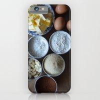 iPhone & iPod Case featuring Cake ingredients by Marieken