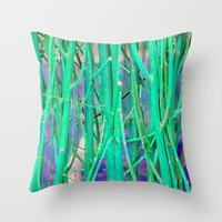 NATURAL DE-FENCE Throw Pillow