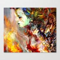 Fading Away Canvas Print