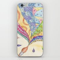 The Painted Quilt iPhone & iPod Skin