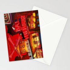 Paris in Red Stationery Cards