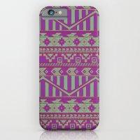 Multicolor Aztec pattern iPhone 6 Slim Case